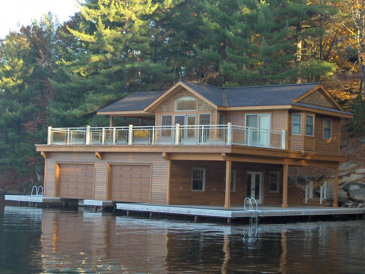 Custom Boathouse